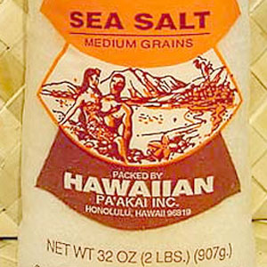 Sea SaltsHawaiian Salt