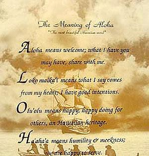 Prayer The Meaning Of Aloha Infoimagination Web 2